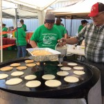 Breakfast on the Farm pancake griddle