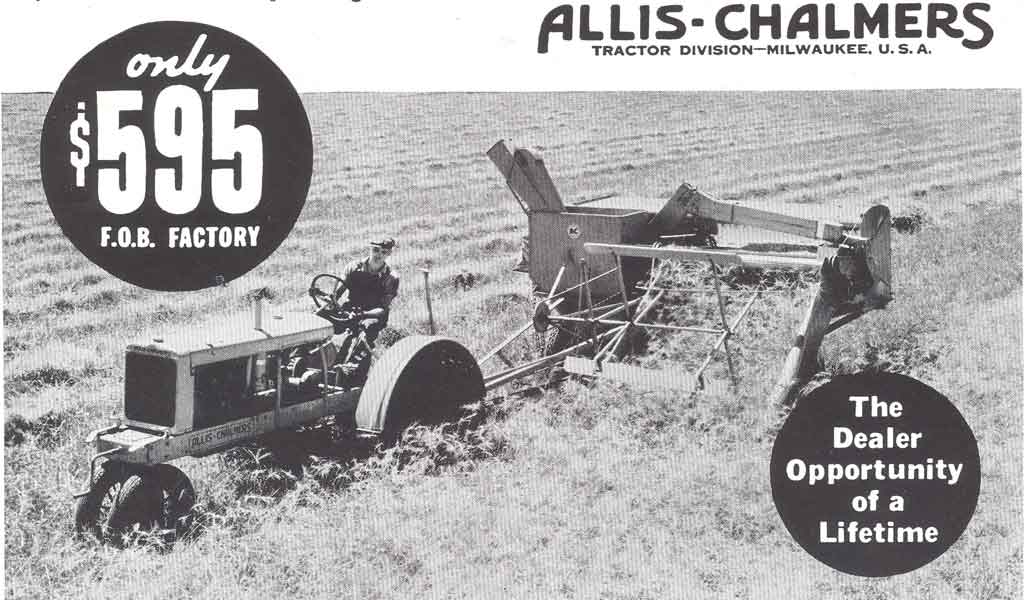Allis Chalmers 1937 ad