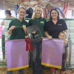 Reserve champion carcass hog