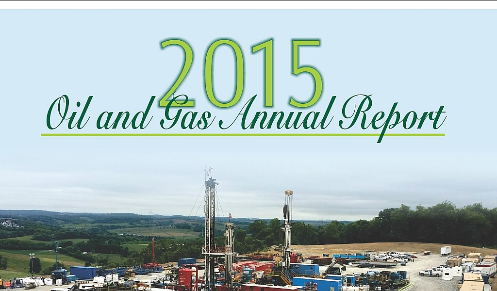 dep oil and gas report cover