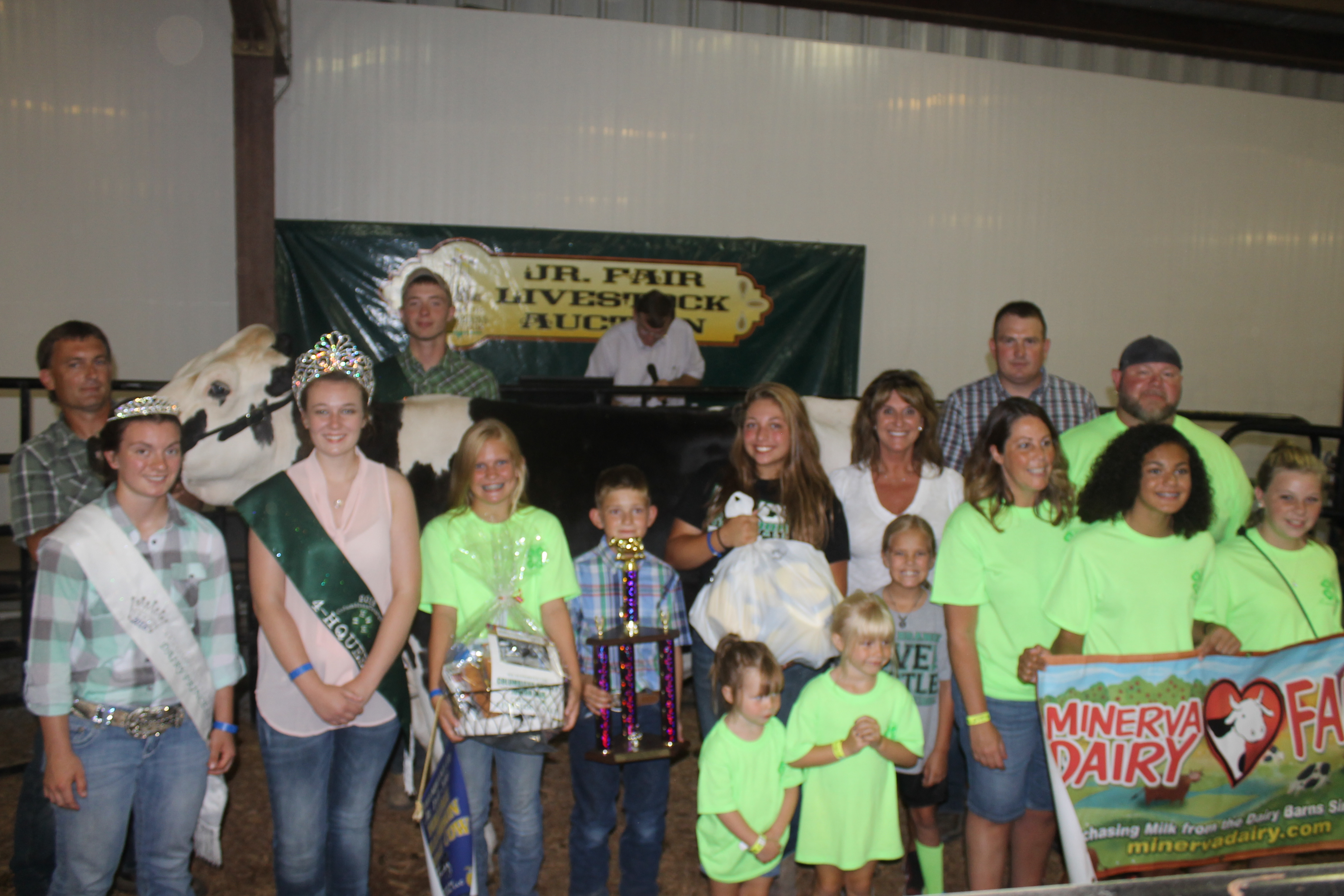 Ohio columbiana county rogers - Grand Champion Cheese Cow Bailey Campbell