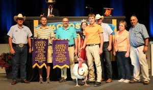 Grand champion turkey