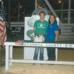 Cuyahoga grand champion rabbit pen