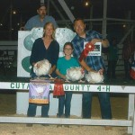 Cuyahoga reserve champion chicken pen