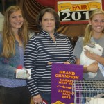 Canfield grand champion rabbit
