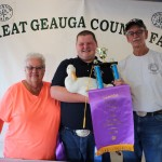 Geauga grand champion duck