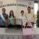 Geauga reserve champion rabbit