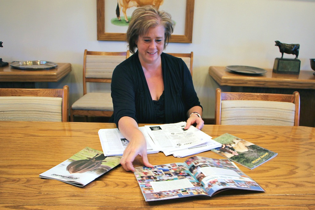 Kim Billman with Jersey Journal