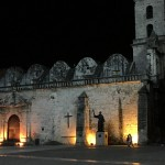 The Plaza de San Francisco in Havana