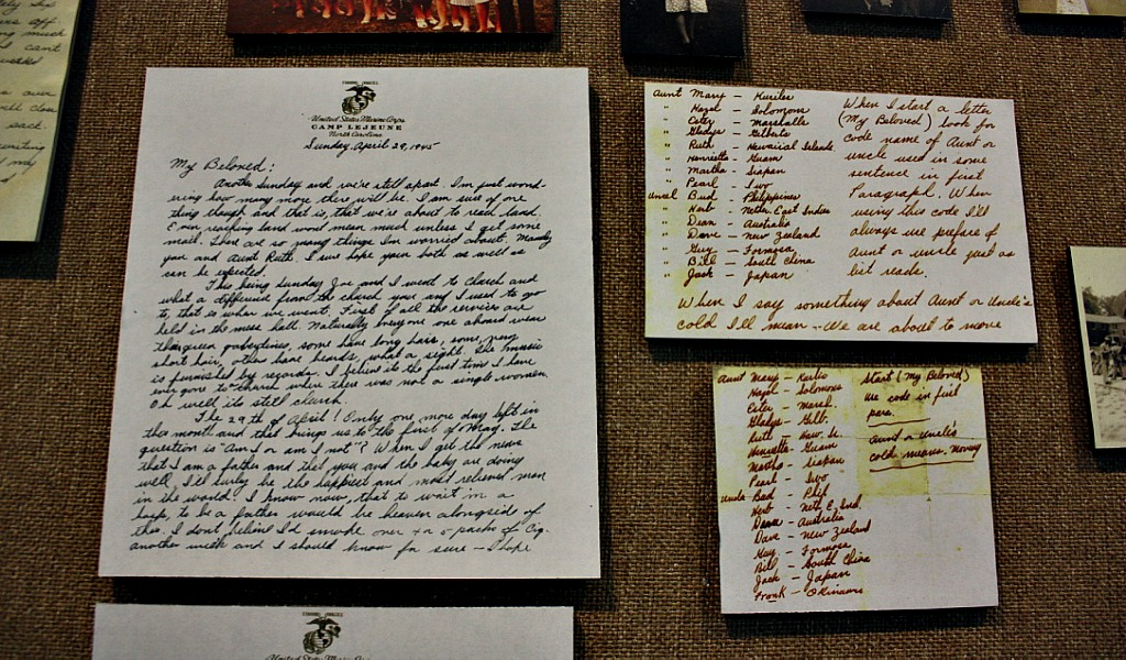 War letters of WWII