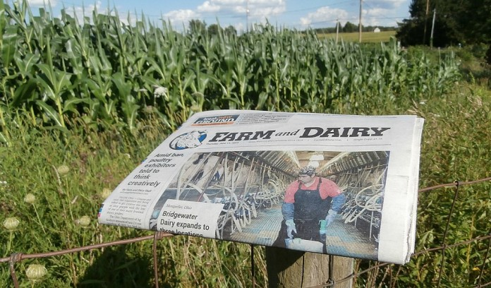 Farm and Dairy newspaper
