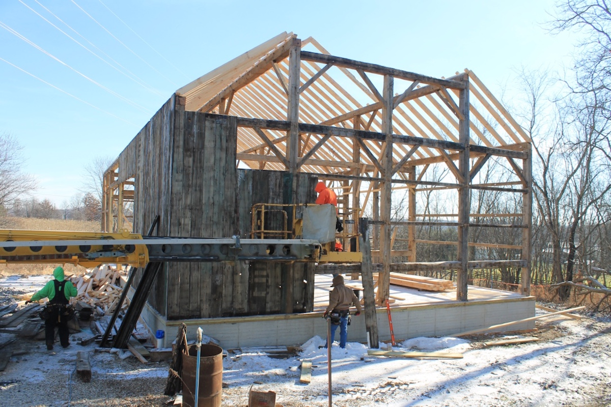 Auctions In Ohio >> 130-year-old barn moves to Carroll County - Farm and Dairy