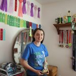 Ava Lonneman 4-H awards