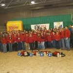 2007 Ohio Beef Expo fitting contestants