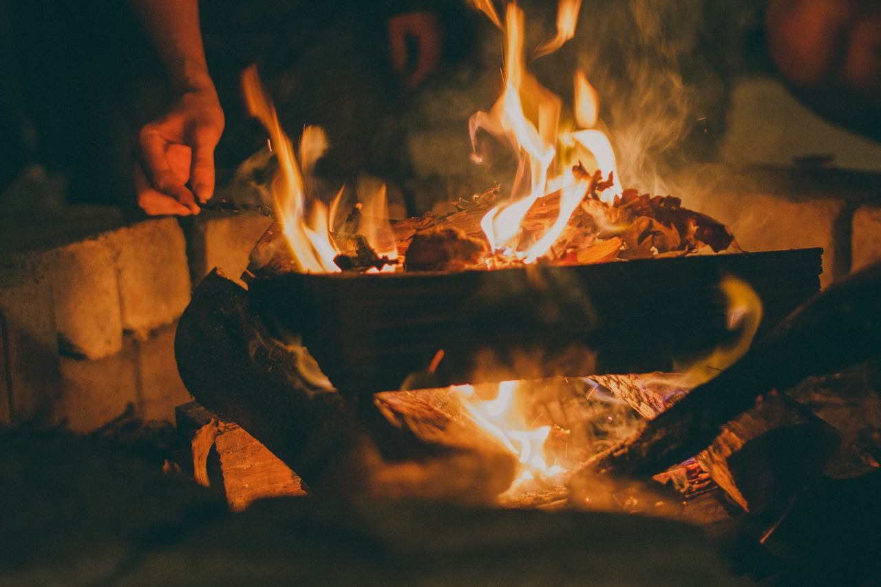 how to build a backyard fire pit farm and dairy