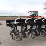 Strip tillage tool