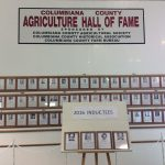 Columbiana County Agricultural Hall of Fame wall, Columbiana County Fair