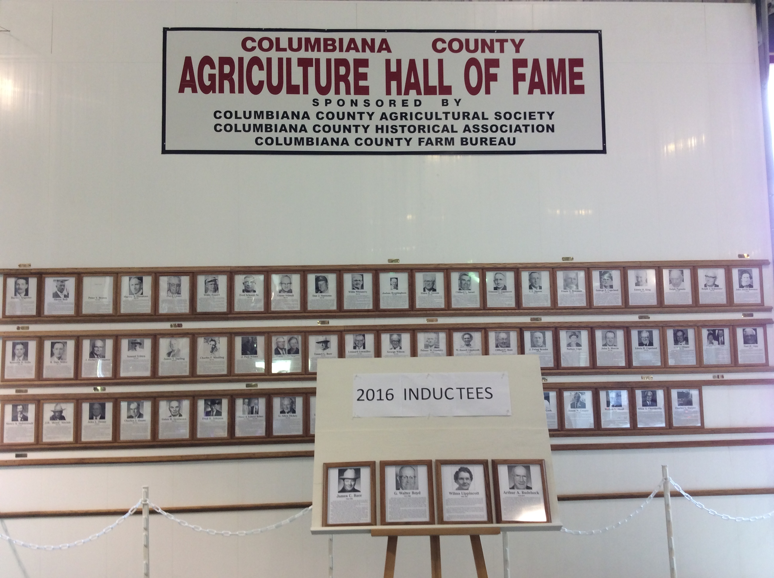 Columbiana ag hall of fame