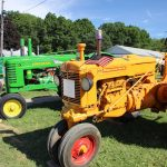Summit County tractors on display
