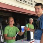 Columbiana County Fair milkshake
