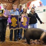 Medina County reserve champion hog