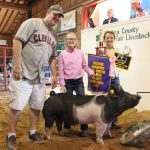 Medina County reserve champion homegrown hog