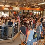 Butler Farm Show crowd before sale