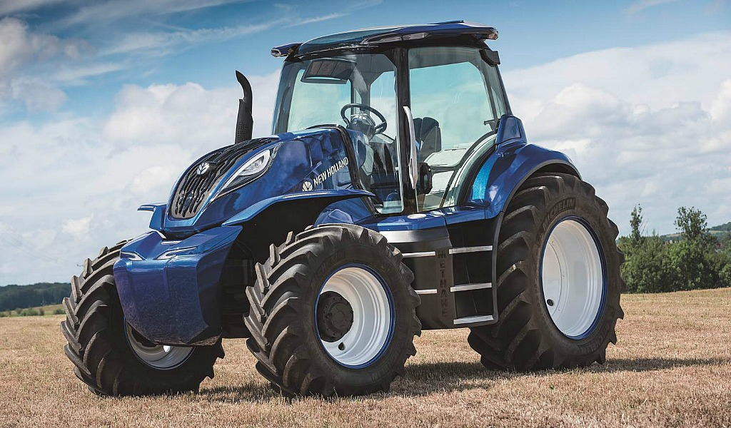 New Holland: Tomorrow's tractor could be powered by ...