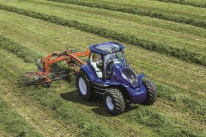 New Holland methane-powered tractor