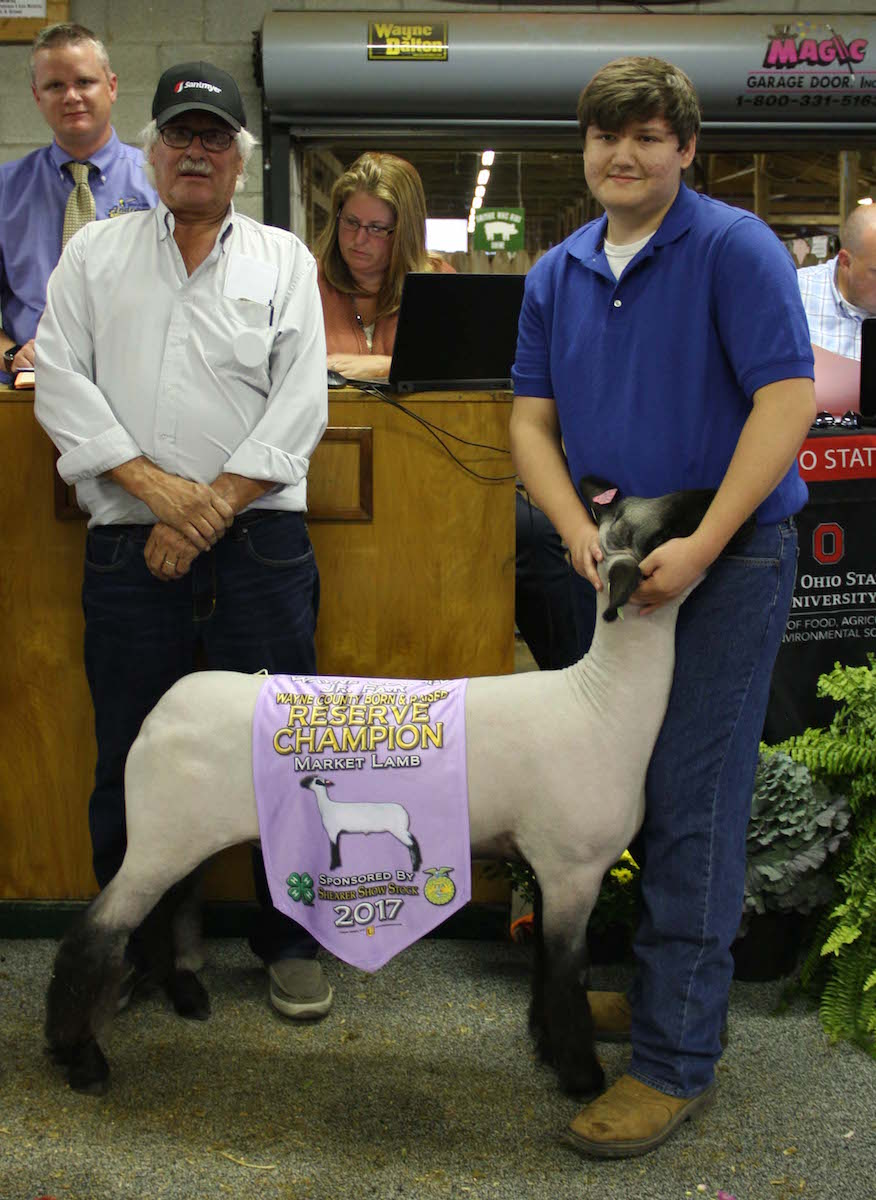 2017 Wayne County Fair sale results - Farm and Dairy
