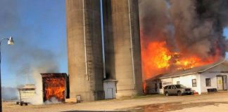 Portage County barn fire