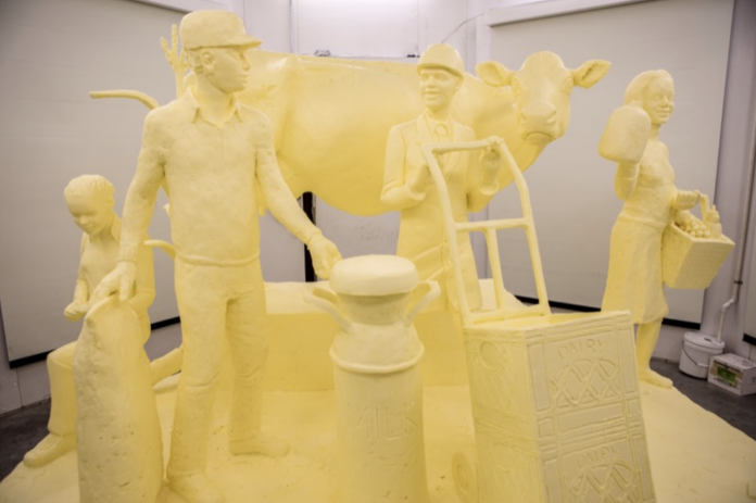 2018 Pennsylvania Farm Show butter sculpture