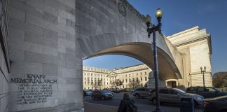 USDA arch in Washington, D.C.