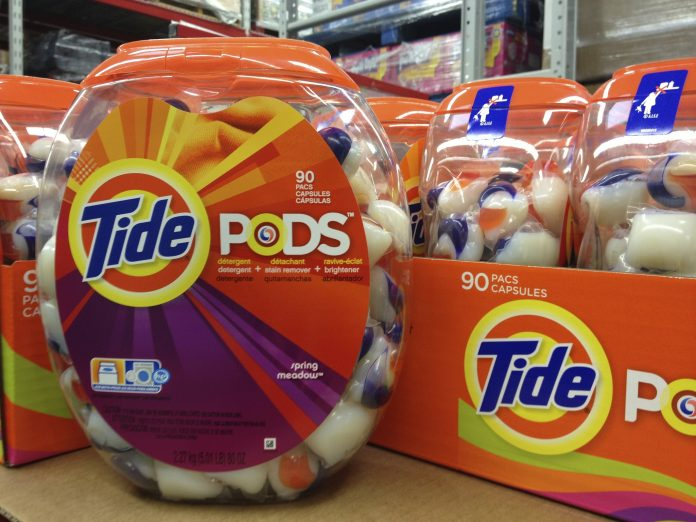 Tide Pods Laundry Detergent Capsules