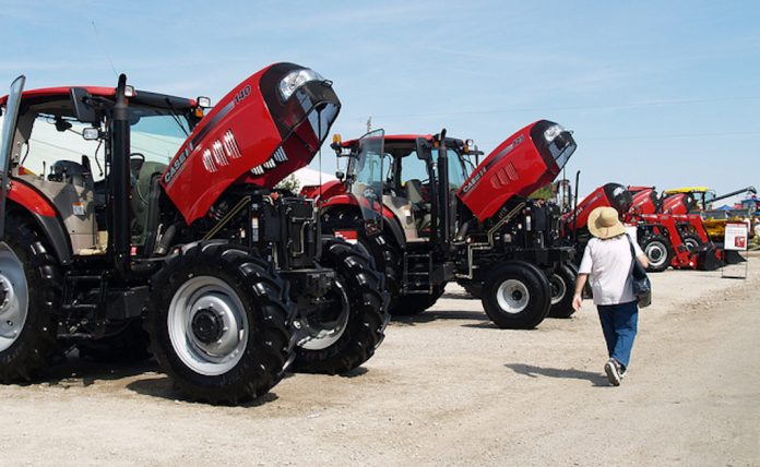 Case IH tractors Farm Science Review