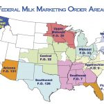 Federal Milk Marketing Orders Map