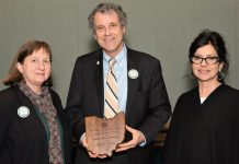 OEFFA Sherrod Brown award