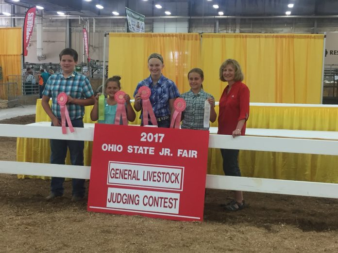 Ohio State Fair Youth Judging Contest