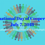 The 2018 International Day of Cooperatives Banner