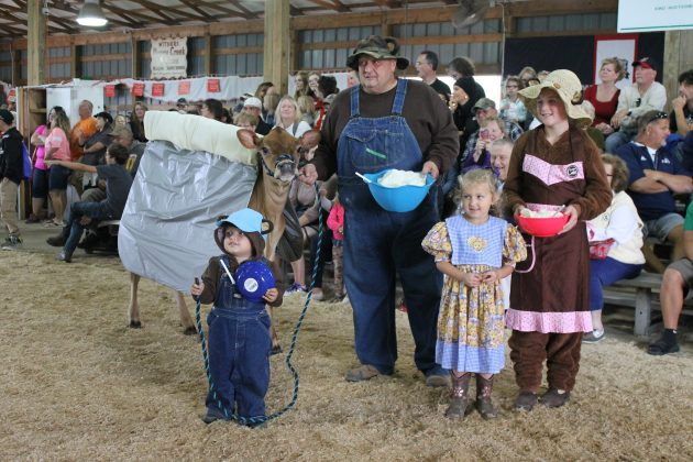 Dairy costume contest
