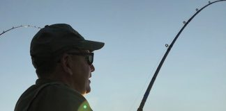 Mike Tontimonia fishing photo