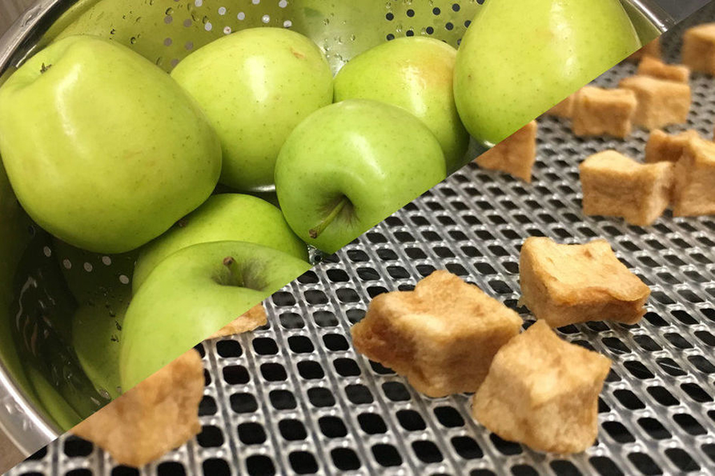 Smoked apple snacks are ripe for the picking farm and dairy for University motors morgantown west virginia