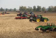 field demonstrations at Farm Science Review