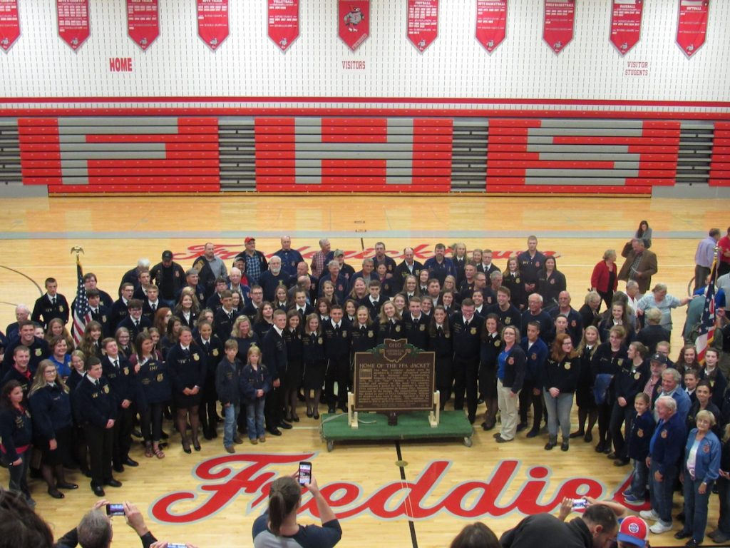 FFA members at Fredericktown