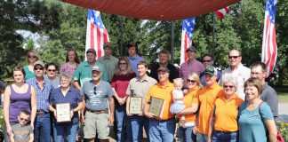 Ohio conservation farm family award winners