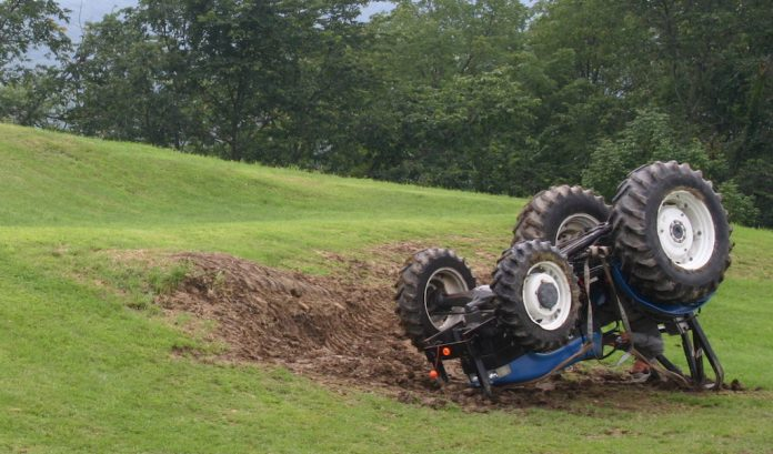 tractor rollover