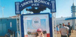 Farm and Dairy on the Santa Monica pier with Grae Miller