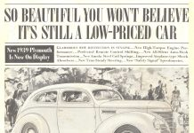 Old car Ad