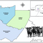 Western Pennsylvania livestock graphic