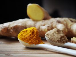 Giner and turmeric